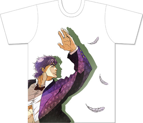 Jojo - Jonathan Feathers Men's Sublimation T-Shirt L, an officially licensed product in our Jojo'S Bizarre Adventure T-Shirts department.
