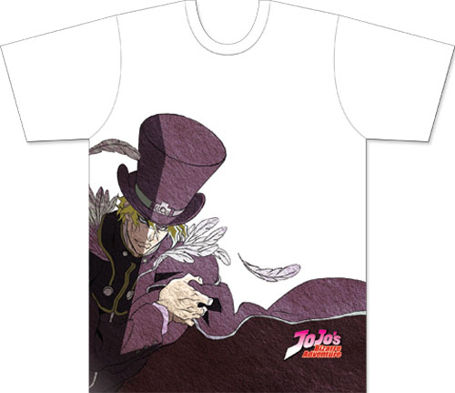 Jojo - Dio Feathers Men's Sublimation T-Shirt L, an officially licensed product in our Jojo'S Bizarre Adventure T-Shirts department.