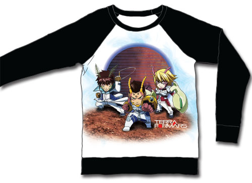 Terra Formars - Sd Group 1 Long Sleeve Raglan L, an officially licensed product in our Terra Formars T-Shirts department.
