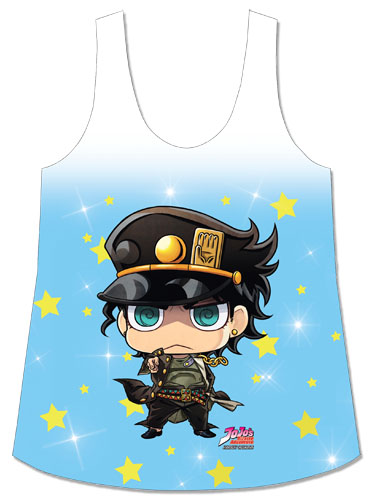 Jojo - Jotaro Sublimation Tank Top S, an officially licensed product in our Jojo'S Bizarre Adventure T-Shirts department.