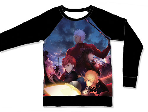 Fate/stay Night - Teams Sublimation Long Sleeve L officially licensed Fate/Zero T-Shirts product at B.A. Toys.