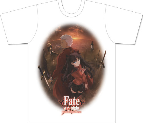 Fate/stay Night - Archer - Rin Men's Sublimation T-Shirt L officially licensed Fate/Zero T-Shirts product at B.A. Toys.