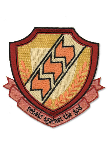 Angel Beats School Emblem Patch, an officially licensed Angel Beats product at B.A. Toys.