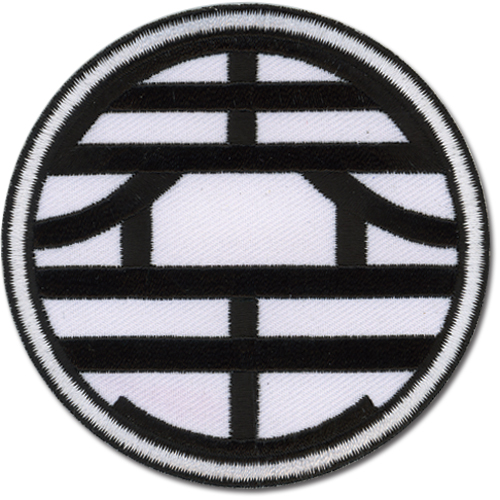 Dragon Ball Z Kaio Mark Patch, an officially licensed Dragon Ball Z Patch