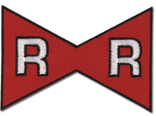 Dragon Ball Z Red Ribbon Mark Patch, an officially licensed Dragon Ball Z product at B.A. Toys.