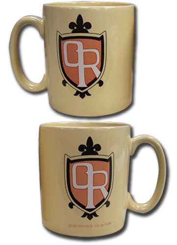 Ouran High School Host Club School Logo Mug, an officially licensed product in our Ouran High School Host Club Mugs & Tumblers department.