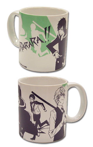 Durarara!! Izaya, Mikado And Shizuo Mug, an officially licensed product in our Durarara!! Mugs & Tumblers department.