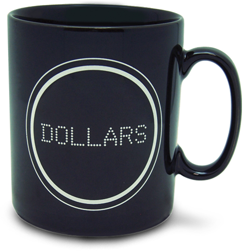 Durarara!! Dollars Mug, an officially licensed product in our Durarara!! Mugs & Tumblers department.