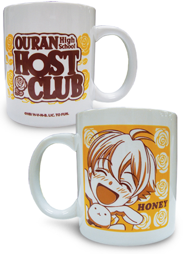 Ouran High School Host Club Honey Mug, an officially licensed product in our Ouran High School Host Club Mugs & Tumblers department.