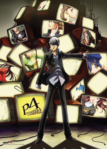 Persona 4 Yu And Tvs Wallscroll, an officially licensed product in our Persona Wall Scroll Posters department.