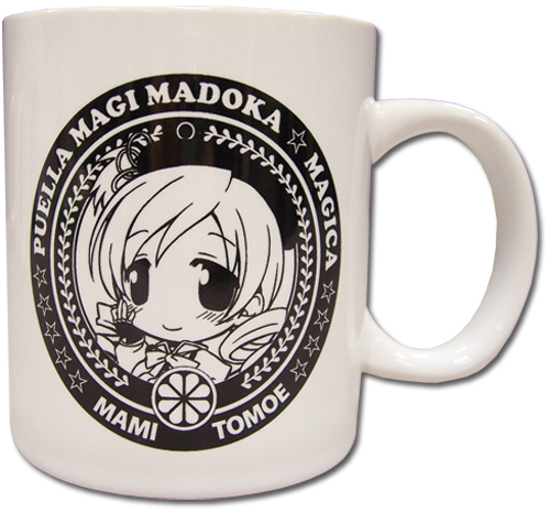Madoka Magica Mami Mug, an officially licensed product in our Madoka Magica Mugs & Tumblers department.