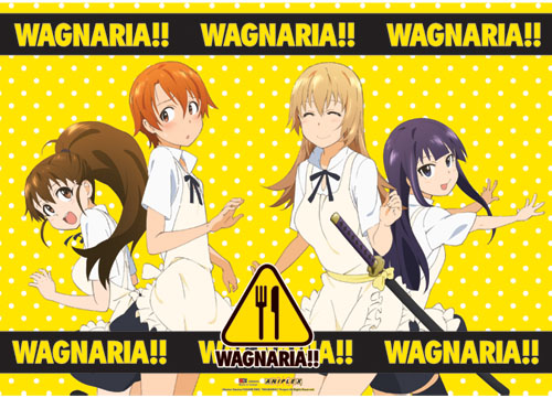 Wagnaira!! Girl Group Wallscroll, an officially licensed product in our Wagnaria!! Wall Scroll Posters department.