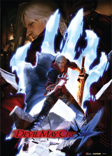 Devil May Cry Keyart Wallscroll, an officially licensed Devil May Cry Wall Scroll
