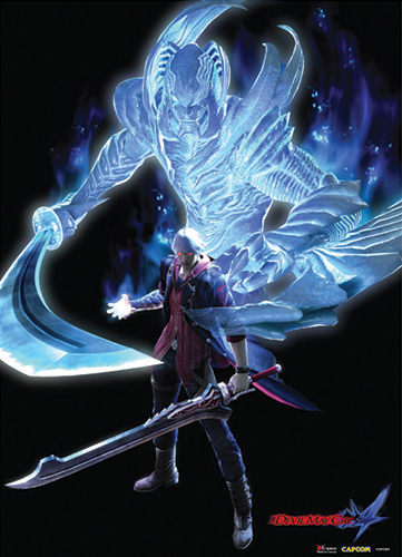 Devil May Cry Nero Wallscroll, an officially licensed Devil May Cry Wall Scroll