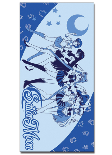 Sailormoon Sailor Soldier Towel, an officially licensed product in our Sailor Moon Towels department.