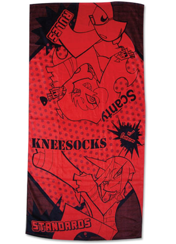 Panty & Stocking Demon Sister Towel, an officially licensed product in our Panty & Stocking Towels department.