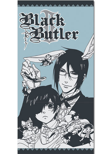 Black Butler 2 Ciel In Wonderland Towel officially licensed product at B.A. Toys.