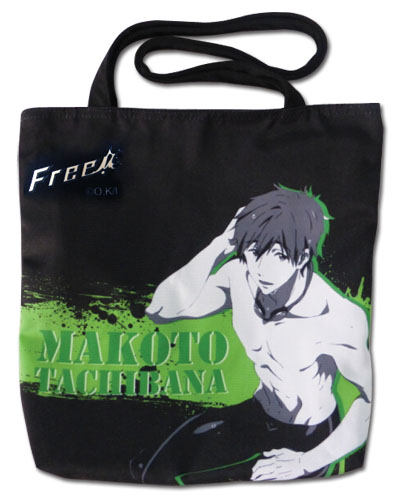 Free! - Makoto Tote Bag, an officially licensed product in our Free! Bags department.