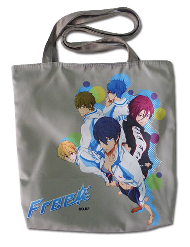Free! - Group Tote Bag, an officially licensed product in our Free! Bags department.