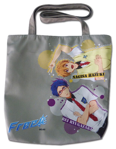 Free! - Nagisa & Rei Tote Bag, an officially licensed product in our Free! Bags department.