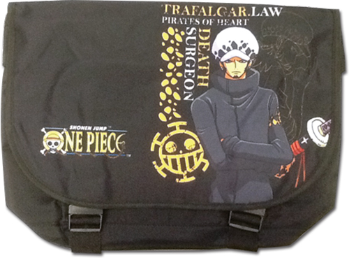 One Piece - Law Messenger Bag officially licensed One Piece Bags product at B.A. Toys.