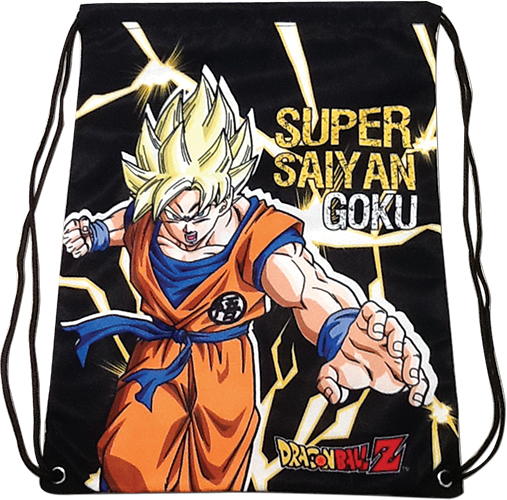 Dragon Ball Z - Super Saiyan Goku Drawstring Bag, an officially licensed product in our Dragon Ball Z Bags department.