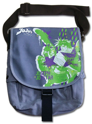 Jojo's Bizarre Adventure - Joseph Messenger Bag, an officially licensed product in our Jojo'S Bizarre Adventure Bags department.