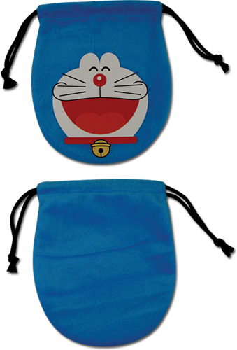 Doraemon - Doraemon Plush Drawstring Pouch, an officially licensed product in our Doraemon Bags department.