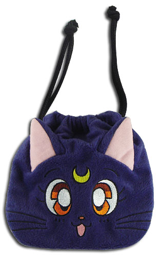 Sailor Moon - Luna Drawstring Pouch, an officially licensed product in our Sailor Moon Bags department.