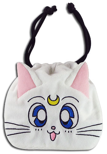 Sailor Moon - Artemis Drawstring Pouch, an officially licensed product in our Sailor Moon Bags department.