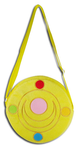 Sailor Moon - Moon Brooch Plush Bag, an officially licensed product in our Sailor Moon Bags department.