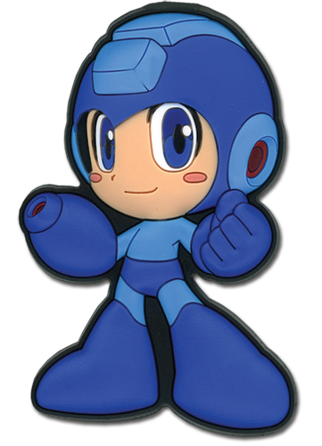 Megaman Powered Up Mega Man Pvc Magnet, an officially licensed product in our Mega Man Magnet department.