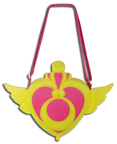Sailor Moon - Crisis Moon Compact Plush Bag, an officially licensed product in our Sailor Moon Bags department.