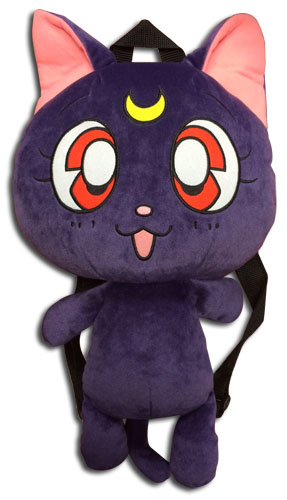 Sailor Moon - Luna Plush Bag 12.5'', an officially licensed product in our Sailor Moon Bags department.