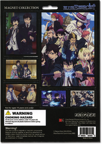 Blue Exorcist Magnet Collection, an officially licensed Blue Exorcist product at B.A. Toys.