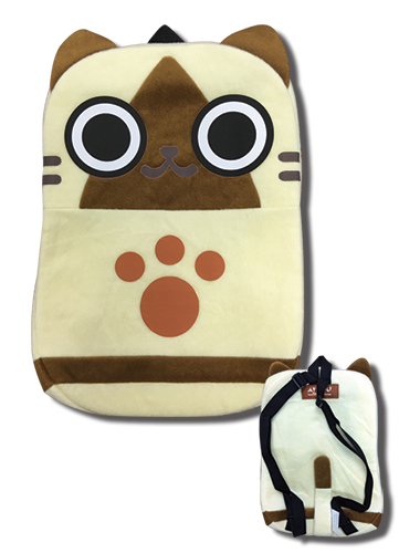 Monster Hunter - Airou Plush Bag 12.5'', an officially licensed product in our Monster Hunter Bags department.