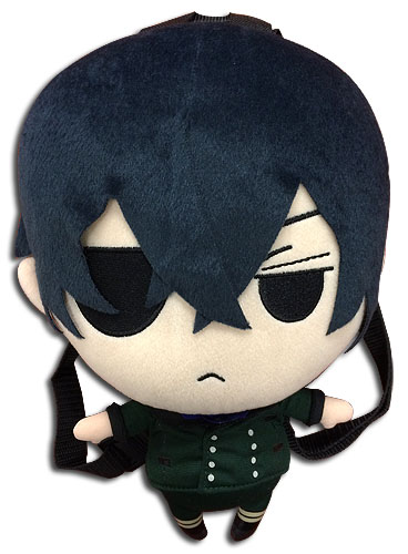 Black Butler - Ciel Plush Bag 12.5'', an officially licensed product in our Black Butler Bags department.