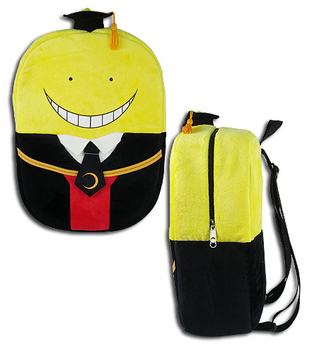 Assassination Classroom - Koro Sensei Plush Bag, an officially licensed product in our Assassination Classroom Bags department.