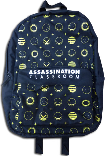 Assassination Classroom - Korosensei Expression Backpack Bag, an officially licensed Assassination Classroom product at B.A. Toys.