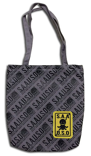 Assassination Classroom - Saau Embrem Tote Bag, an officially licensed Assassination Classroom product at B.A. Toys.