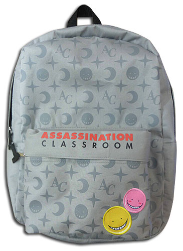 Assassination Classroom - Anime Monogram Backpack Bag, an officially licensed product in our Assassination Classroom Bags department.