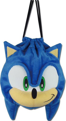 Sonic The Hedgehog - Sonic Plush Bag, an officially licensed product in our Sonic Bags department.