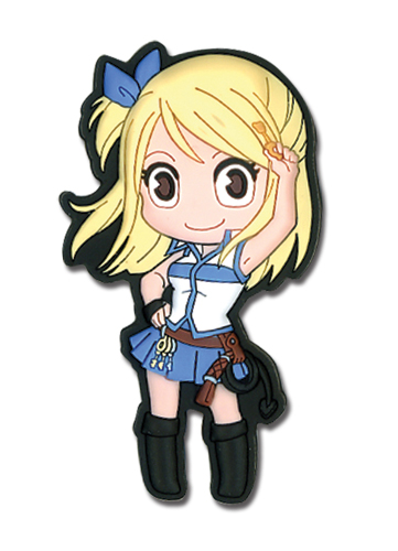 Fairy Tail Lucy Sd Pvc Magnet, an officially licensed product in our Fairy Tail Magnet department.