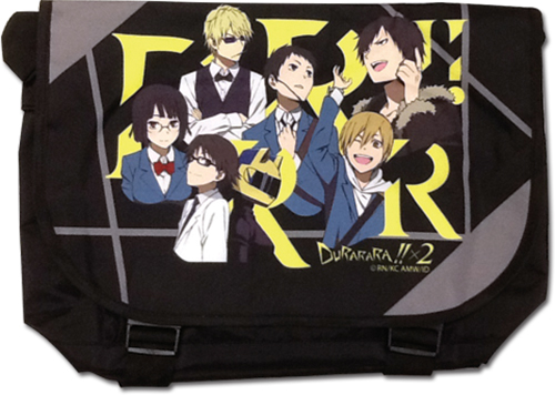 Durarara!! X2 - Group Messenger Bag officially licensed Durarara!! Bags product at B.A. Toys.