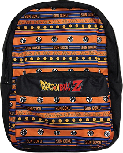 Dragon Ball Z - Goku Style Backpack officially licensed Dragon Ball Z Bags product at B.A. Toys.
