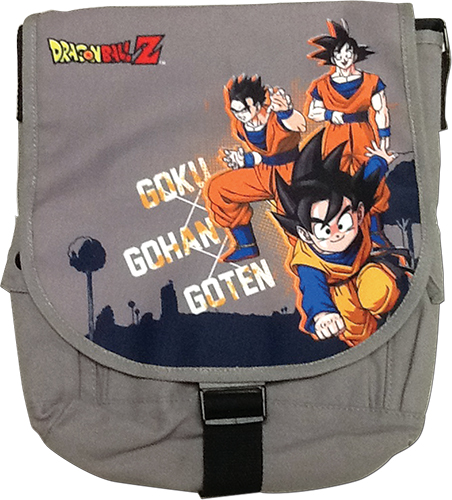 Dragon Ball Z - Goku Family Messenger Bag, an officially licensed product in our Dragon Ball Z Bags department.