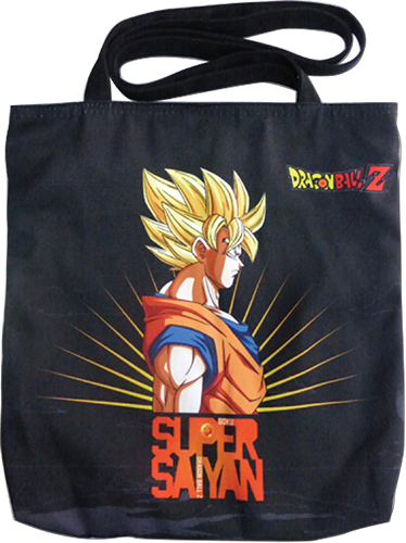 Dragon Ball Z - Super Saiyan Goku Tote Bag, an officially licensed product in our Dragon Ball Z Bags department.