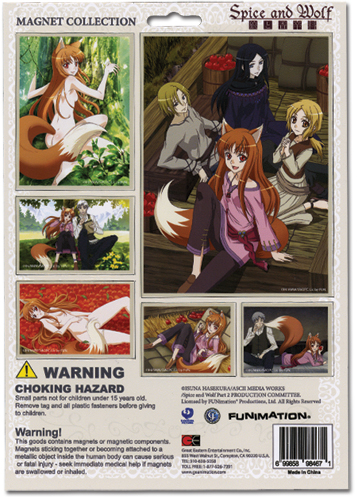 Spice And Wolf Magnet Collection, an officially licensed product in our Spice & Wolf Magnet department.