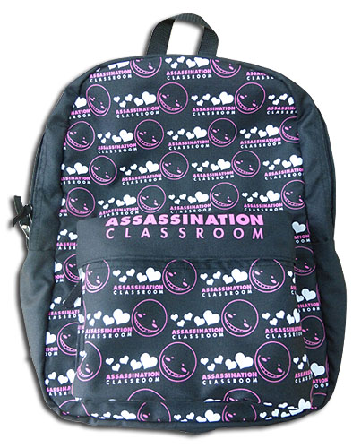 Assassination Classroom - Koro Pink Backpack Bag, an officially licensed product in our Assassination Classroom Bags department.