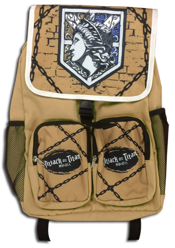 Attack On Titan - Wall Maria Backpack, an officially licensed product in our Attack On Titan Bags department.